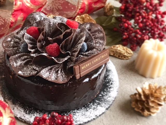 写真:クリスマスドゥ―ブルショコラ
